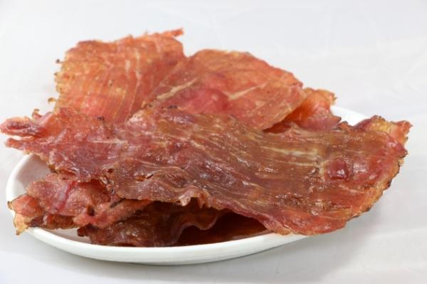 蒜味豬肉紙 1